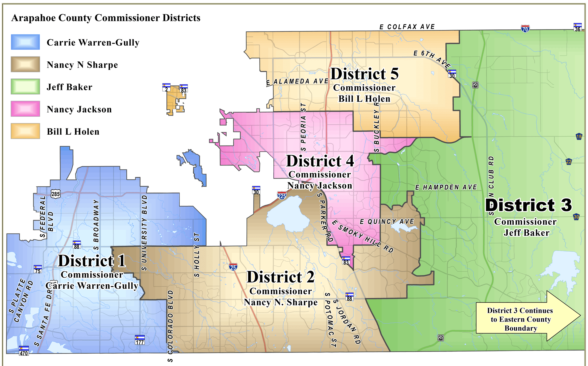 Commissioner Map