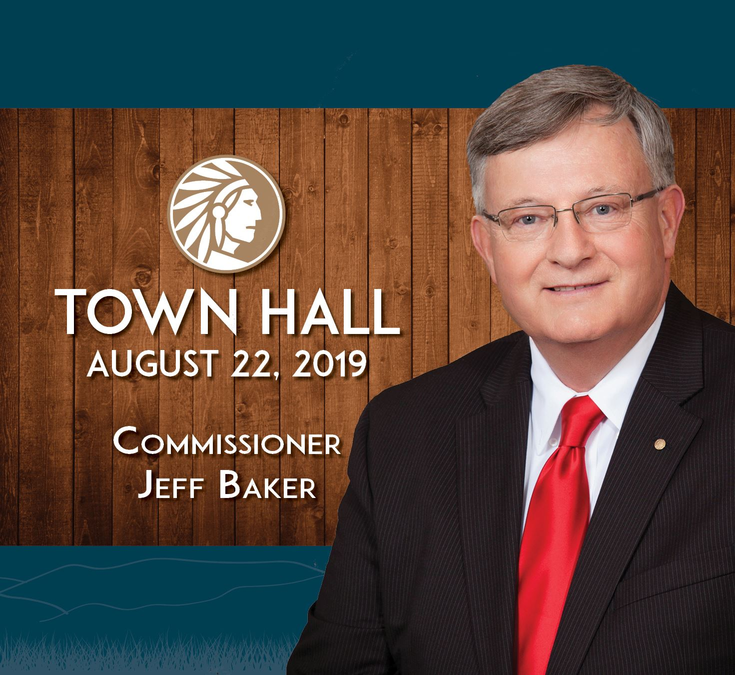 Town Hall Commissioner Baker